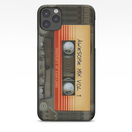 Awesome Guardian Cassette Vol 1 iPhone Case