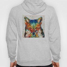 Colorful Fox Art - Foxi - By Sharon Cummings Hoody
