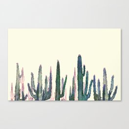 cactus water color Canvas Print