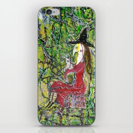 witchy mamma iPhone Skin