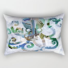 For the love of Octopus Rectangular Pillow