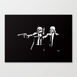 Star Pulp Fiction Canvas Print