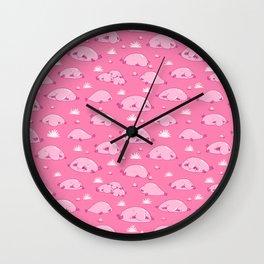 Bulbous Blobfish Wall Clock