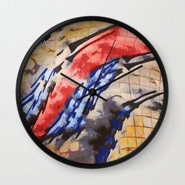 Tu vuò fà l'americano Wall Clock