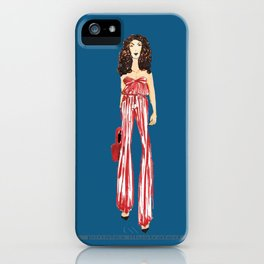 Fashion Drawing Series 2, Pinales Illustrated iPhone Case