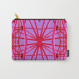 Red Iron Tubes Carry-All Pouch