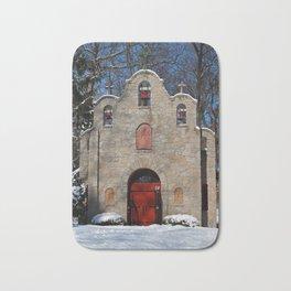 Portiuncula Chapel in Winter III Bath Mat
