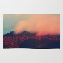 Red Clouds Rug