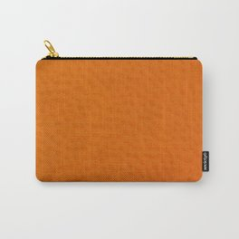 Orange Skin Carry-All Pouch