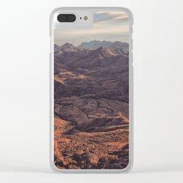 Punta de la Sierra Clear iPhone Case