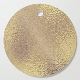Simply Metallic in Antique Gold Cutting Board