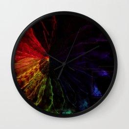 Prism Flower Wall Clock