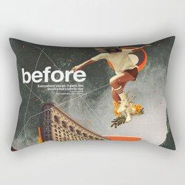 Before Rectangular Pillow