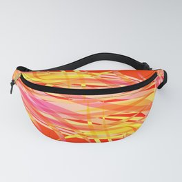 Vector pastel background of flowing bird feathers. For registration of paper or postcards. Fanny Pack