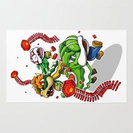 Mushroom Kingdom New Years Lion Dance Rug
