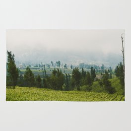 Fields of Tiny Trees Rug