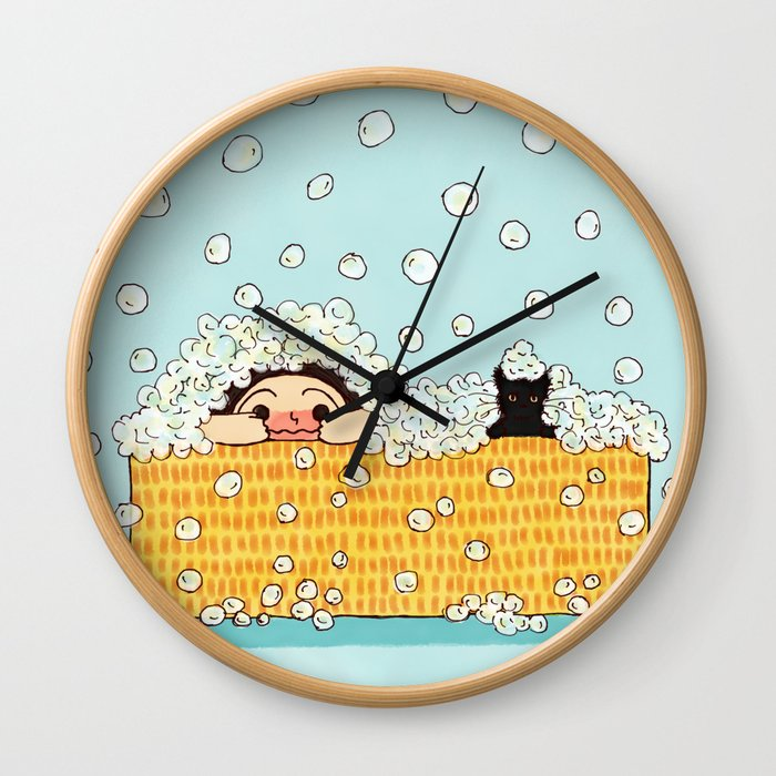 Bubble Time Wall Clock