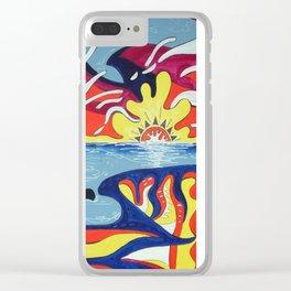 Laguna Clear iPhone Case