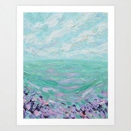 Summer Meadows Art Print