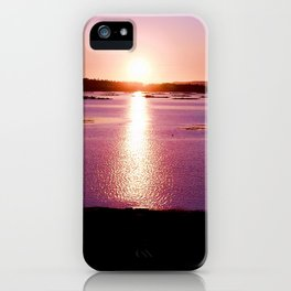 Galician Sunset iPhone Case