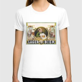 Vintage Lager Beer Advertisement T-shirt