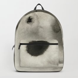 Abstract Black Ink Backpack