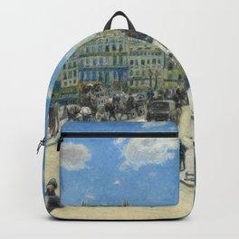Pont Neuf Paris Painting by Auguste Renoir Backpack