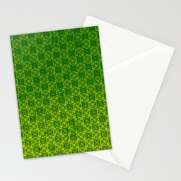 D20 Druid Ranger Crit Pattern Premium Stationery Cards