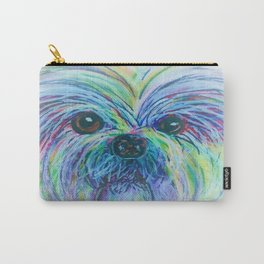 Shih Tzu Dreamy Focus Carry-All Pouch