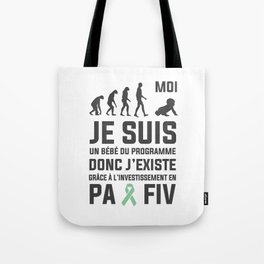 #VagueEspoir Bébé FIV  Tote Bag