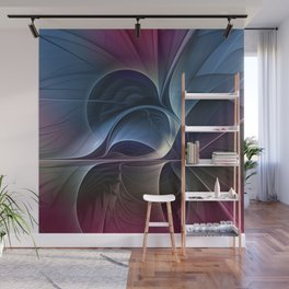 Fractal Mysterious, Colorful Abstract Art Wall Mural