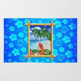 Beach Christmas Rug