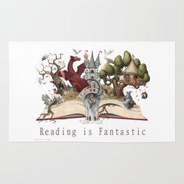 Reading is Fantastic Rug