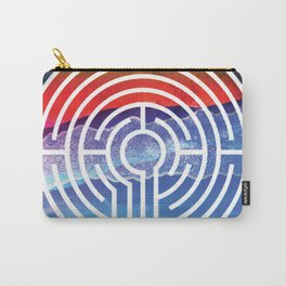 Transformative Labyrinth of Sound Carry-All Pouch
