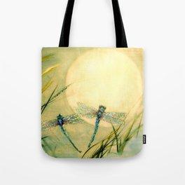 Dragonfly Moon  Tote Bag