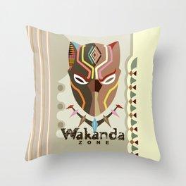 Wakanda Zone Throw Pillow