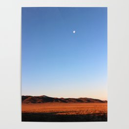 KAZAKHSTAN DESERT Poster