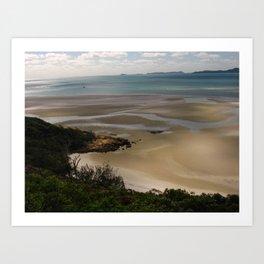 Whitesunday in Australia - Beach Art Print