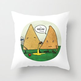 Nacho Friend Throw Pillow