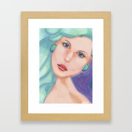 Plugs Framed Art Print