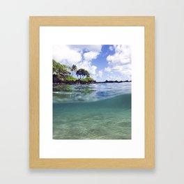 The Maui Way  Framed Art Print