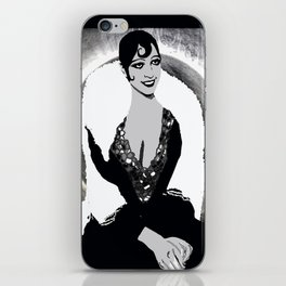 Josephine Baker the Original Flapper and Diva iPhone Skin