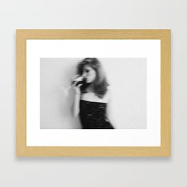 it all seems so... Framed Art Print