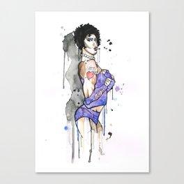 Frank N Furter Canvas Print