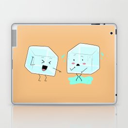 Ice cube problems Laptop & iPad Skin