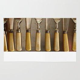 Vintage Cutlery Rug