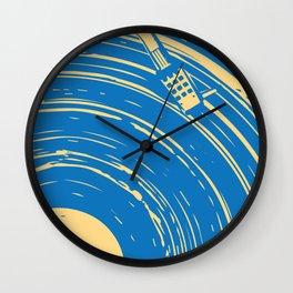 blues vinyl Wall Clock