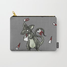 Dirty Rat bloody Teeth Carry-All Pouch