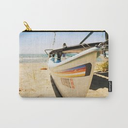 Sailboat on the Beach Carry-All Pouch