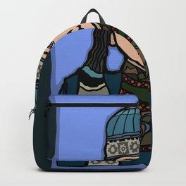 Mongolian Girl Backpack
